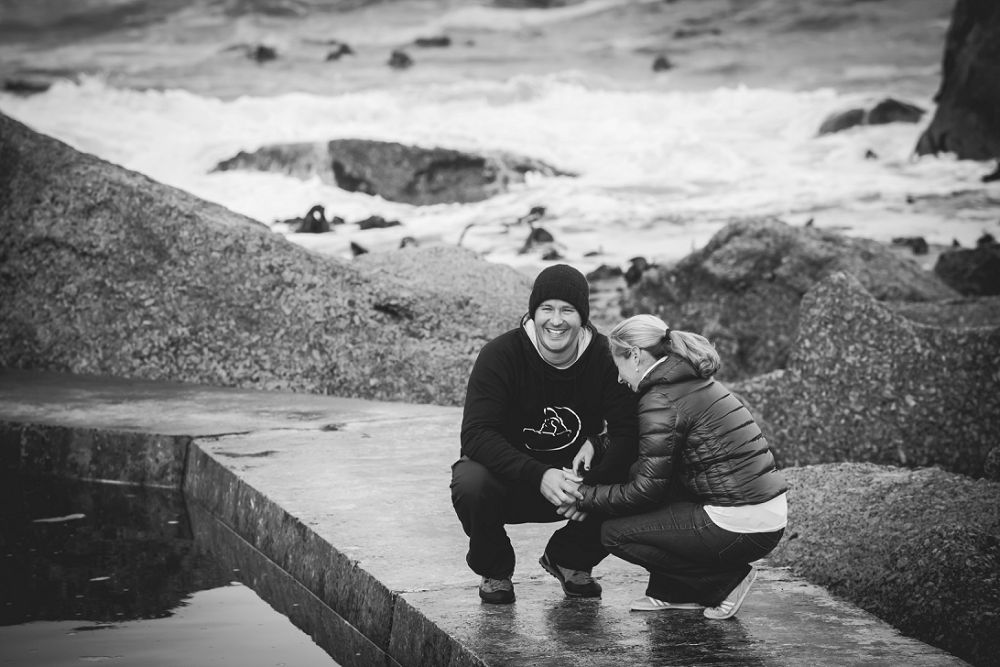 Cape Town Beach Engagement shoot 002