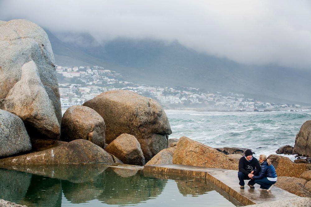 Cape Town Beach Engagement shoot 003