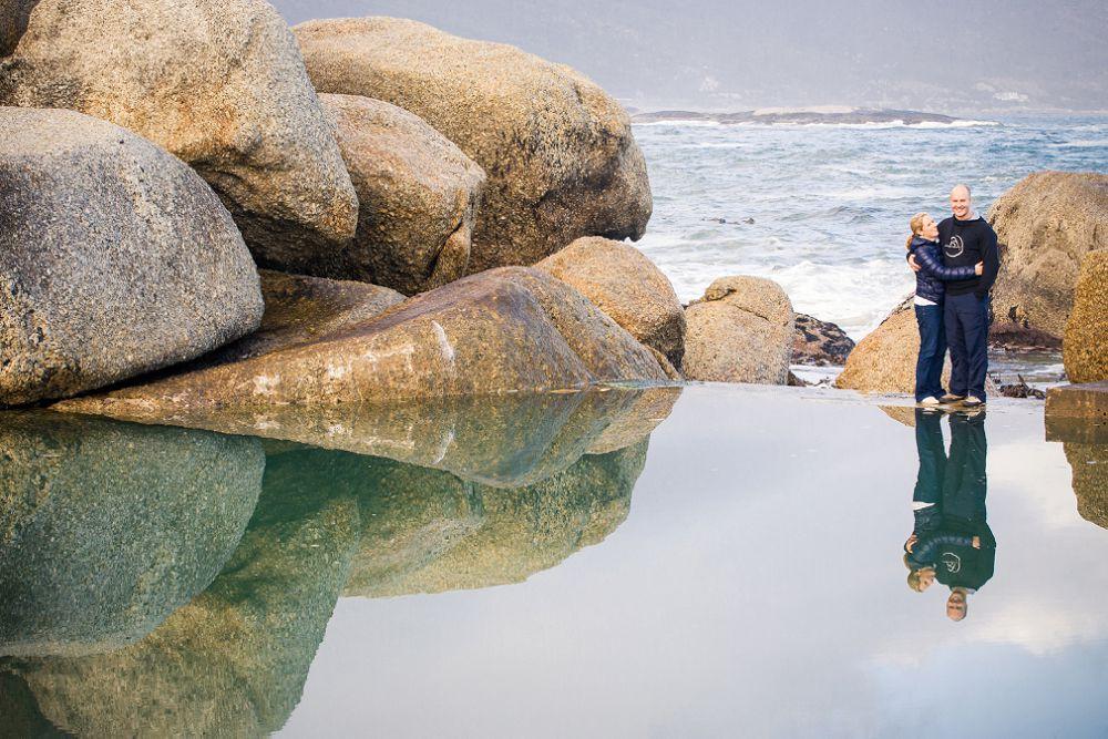 Cape Town Beach Engagement shoot 009
