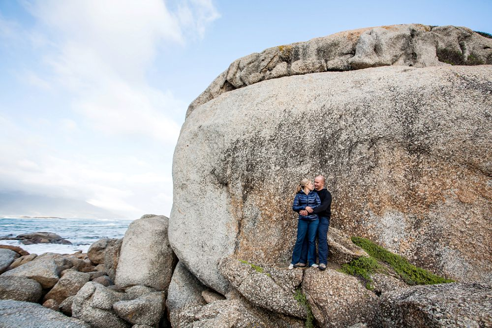 Cape Town Beach Engagement shoot 021