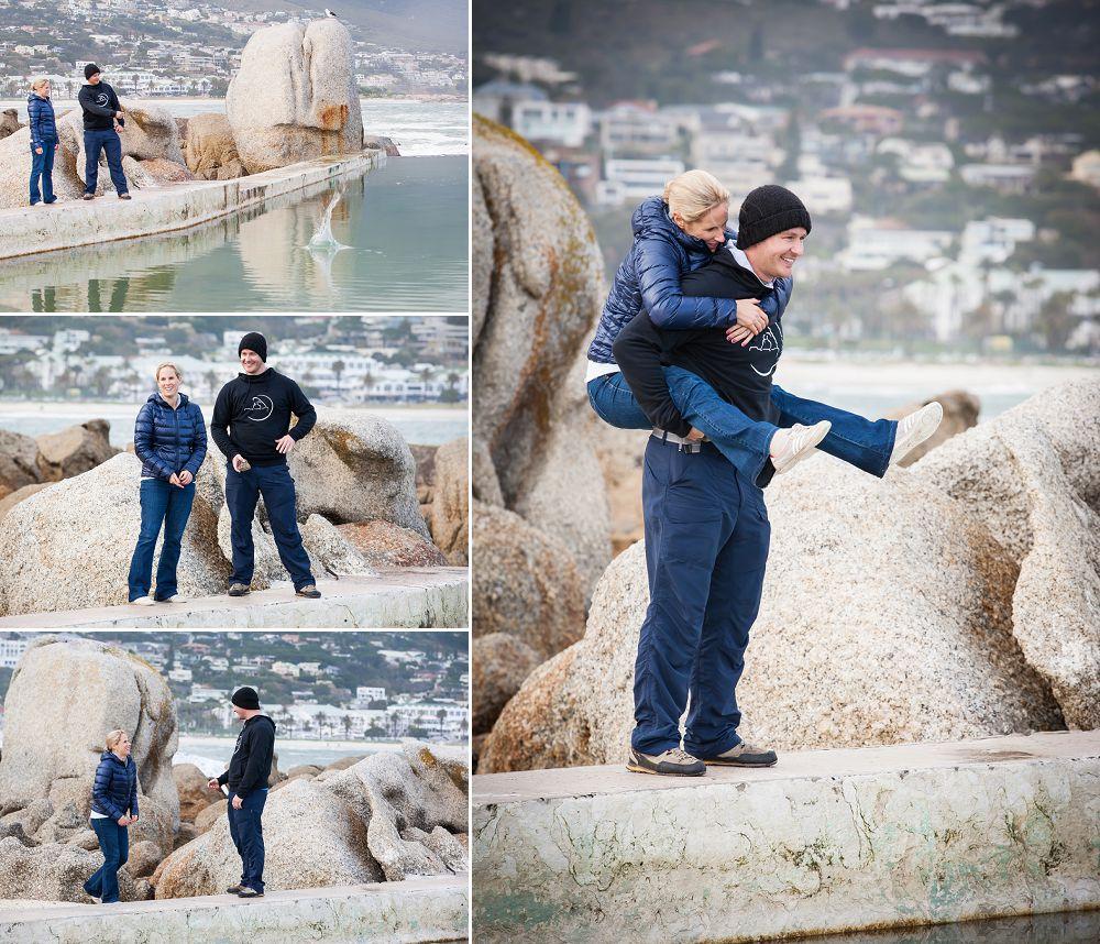 Cape Town Beach Engagement shoot 036