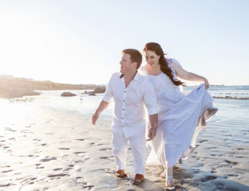 West Coast Paternoster wedding