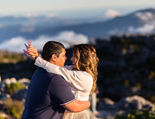 Table Mountain Proposal Shoot