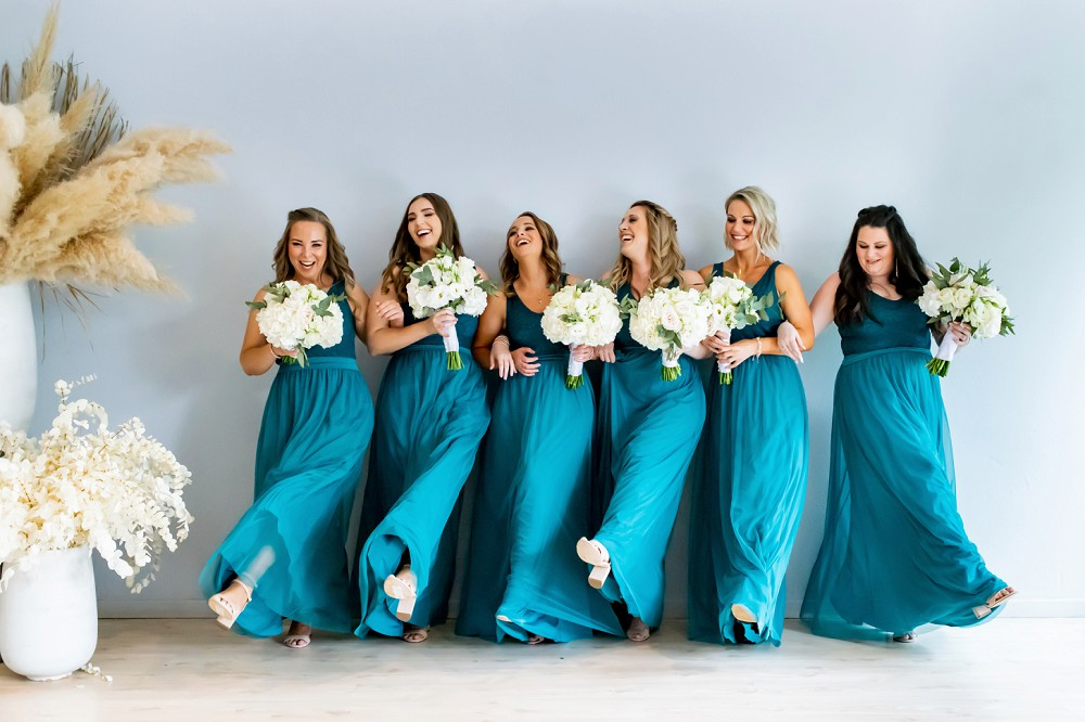 Bridesmaids Inimitable wedding