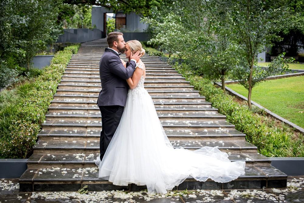 Inimitable wedding venue Bride and groom