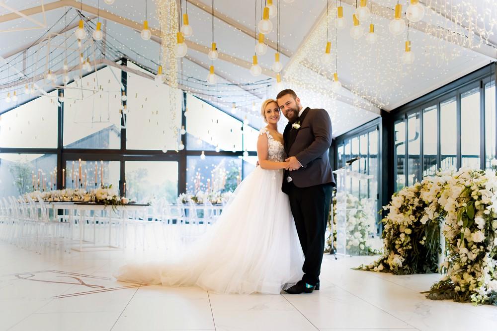 Bride and groom Inimitable wedding venue