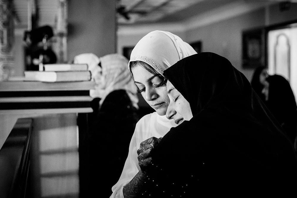 Emotive wedding photography Muslim wedding