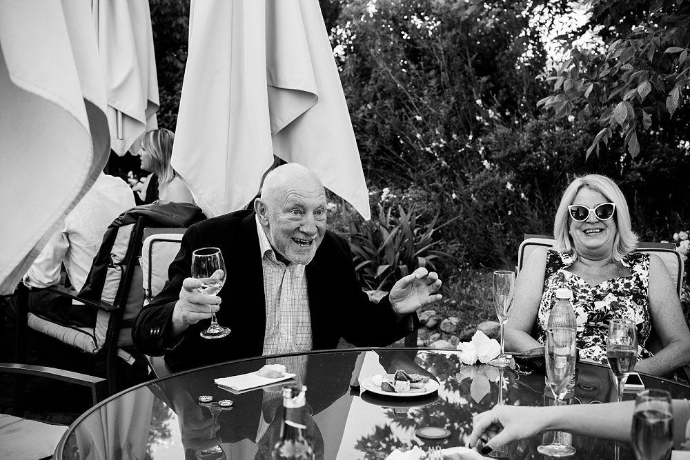emotive wedding photography wedding guests