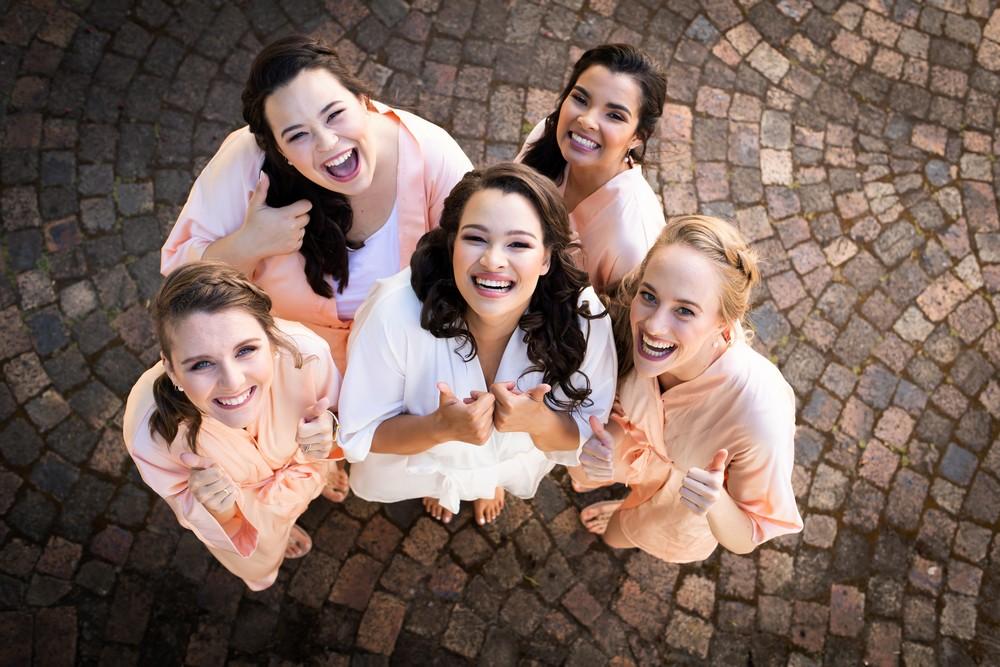 Cape Town wedding photographers bride tribe