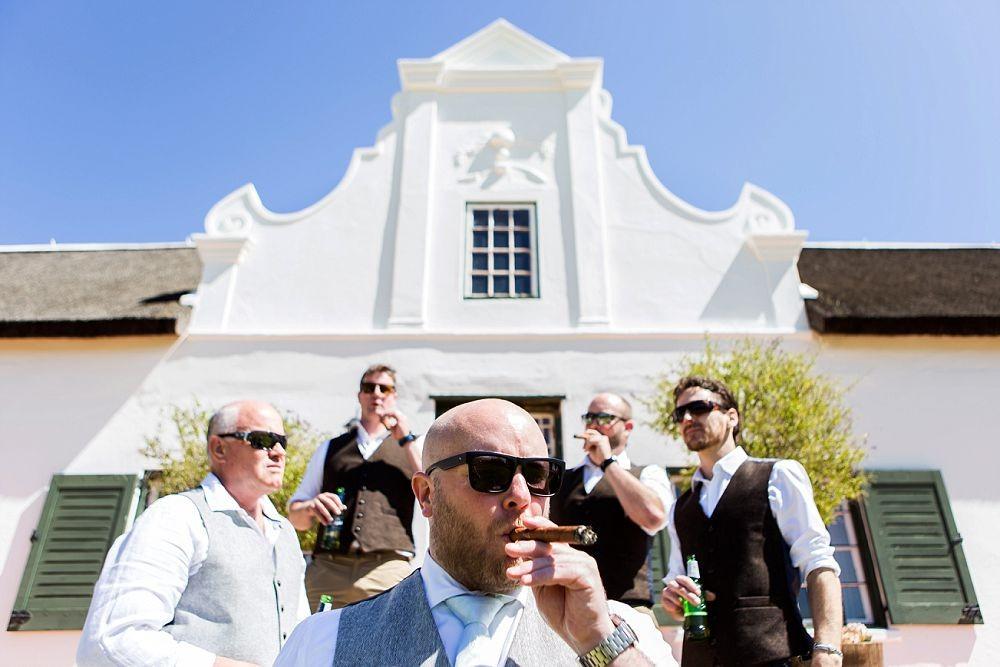 Cape Town wedding photographers Groomsmen