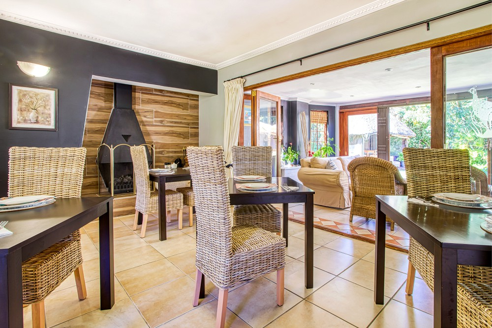 Durbanville Interior photography Highlands Lodge Dining Area