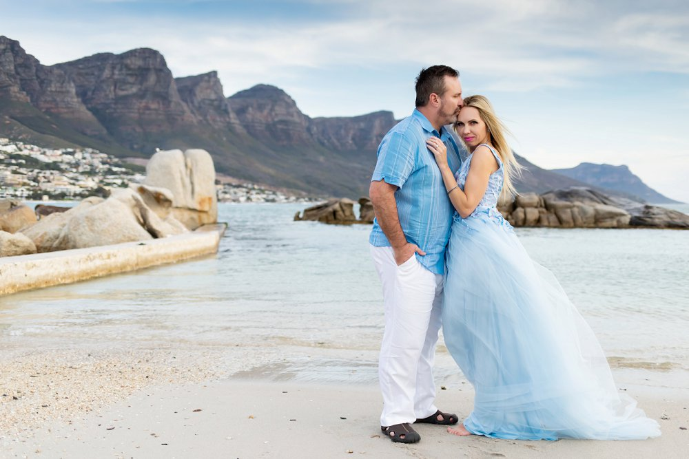 Couple on vacation in Cape Town