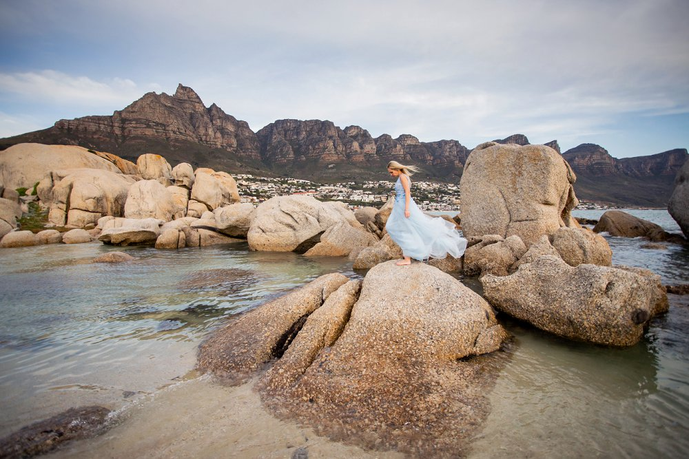 Cape Town vacation photography glamour shoot