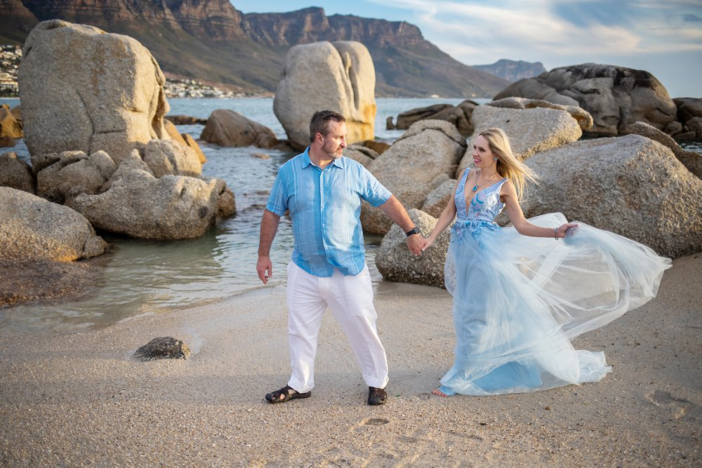 Cape Town vacation photography couple shoot