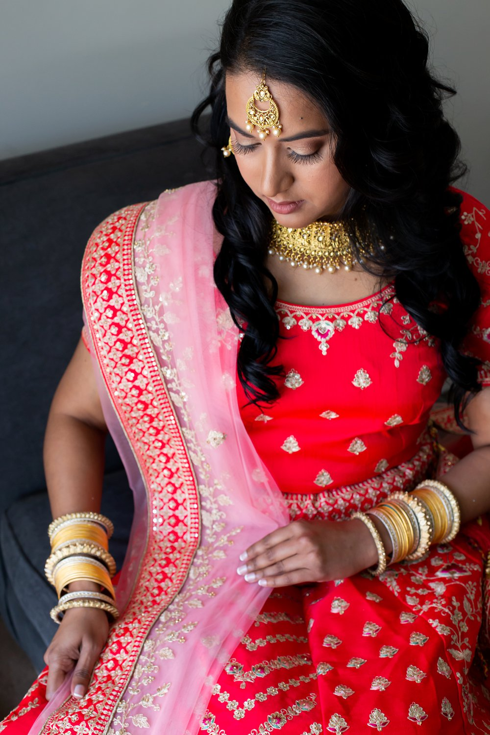 Indian Engagement le Franschhoel hotel beautiful indian bride to be