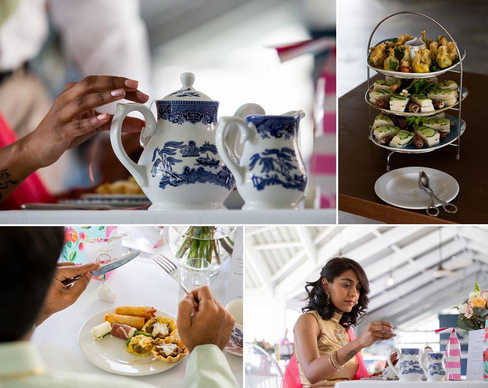 Indian engagement le Franschhoek hotel high tea