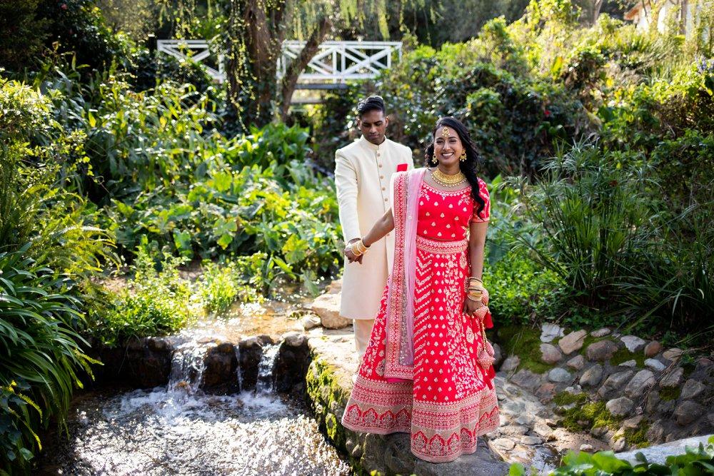 Indian engagement le franschhoek hotel