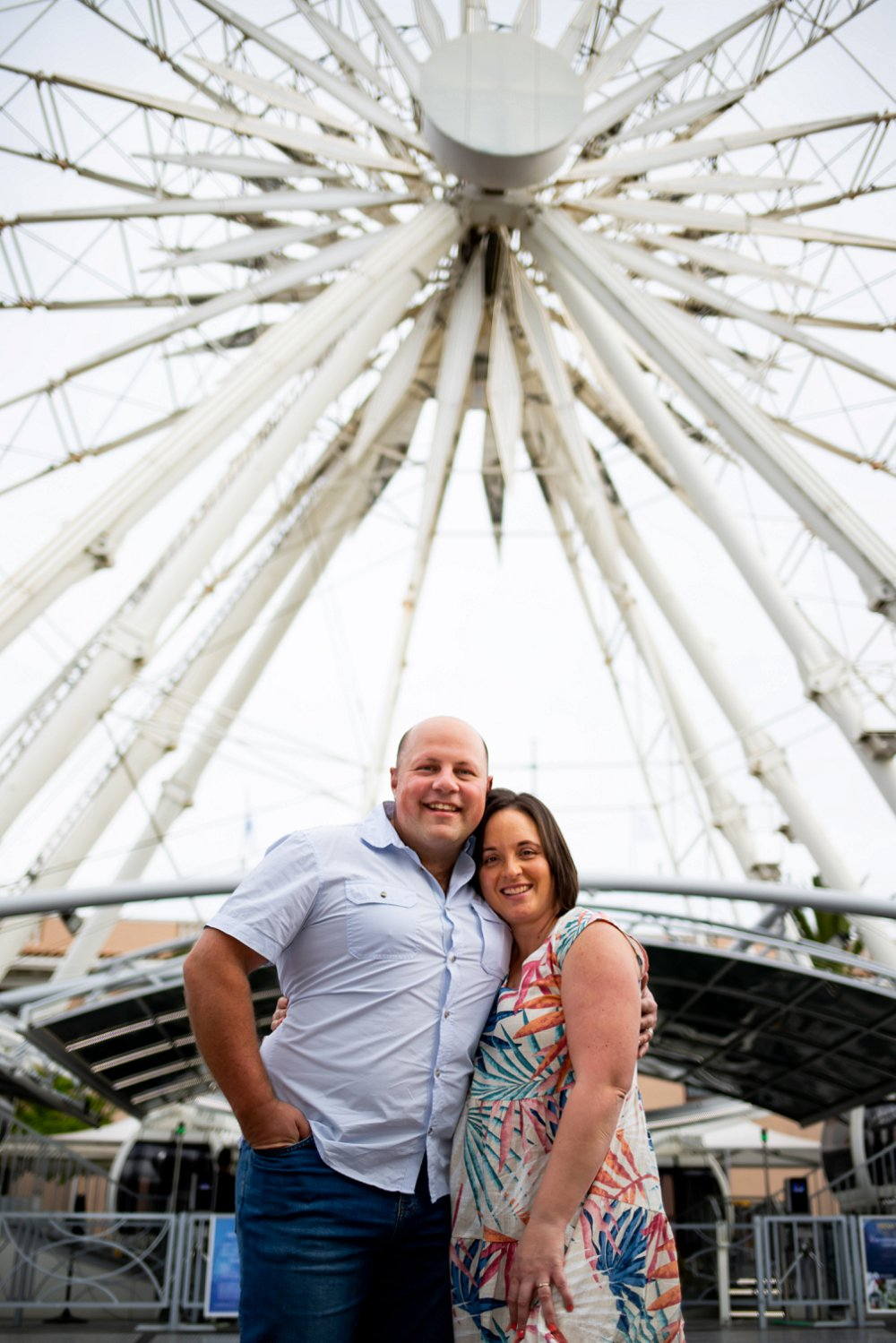 Cape Town couple shoot big wheel